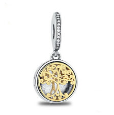 NEW European Silver plated Charm Bead Fit sterling 925 Necklace Bracelet #A070