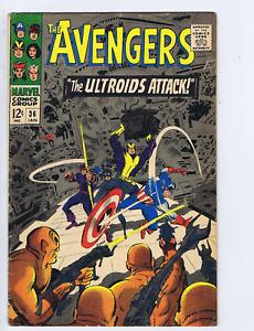 Avengers #36 Marvel 1967 The Ultroids Attack !