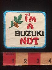 Vintage I'M A Suzuki Nut Motorcycle Biker Patch 84Gg