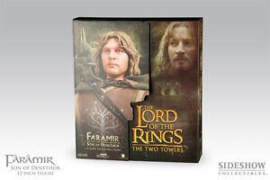 Sideshow Lord of the Rings FARAMIR DENETHOR Exclusive Figure LotR Hobbit Rare