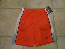 BOYS SIZE 4T NIKE DRI-FIT SHORTS **BRIGHT RED** NEW WITH TAGS!!