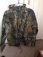 Realtree Camo Waterproof Jacket Shooting Carp Fishing Hunting New Size XXXL