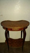 French kidney occ/wine table inlaid suit restoration