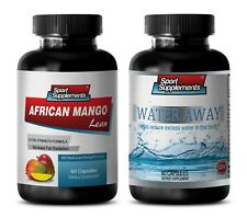immune system boost - African Mango – Water Away Combo 2B - cranberry extract li