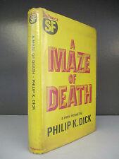 Philip K. Dick - A Maze Of Death - 1st Edition - Gollancz - 1972 (ID:458)