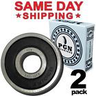 6301-2RS C3 EMQ Premium Rubber Sealed Ball Bearing, 12x37x12, 6301RS (2 QTY)