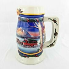 Budweiser 2000 Holiday in The Mountains Beer Stein Mug CS416