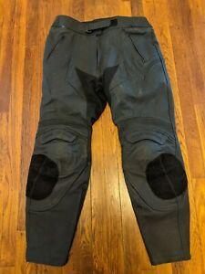 Frank Thomas Street Track CE Armored Leather Motorcycle Pants - US/UK 38