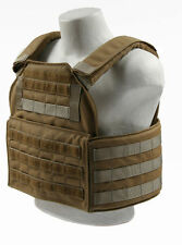 Spartan Armor Systems Omega AR500 Shooter Plate Carrier Cumber Coyote