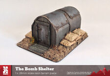 The Bomb Shelter - 28mm scale resin terrain piece
