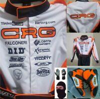 CRG Go Kart Race Suit CIK FIA Level 2+Shoes+Gloves+Balaclava