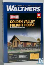 3533 Walthers Cornerstone Golden Valley Freight House HO Scale