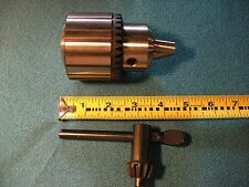 NEW HEAVY DUTY 5/8 DRILL CHUCK AND KEY FOR HARBOR FREIGHT 919 DRILL PRESS
