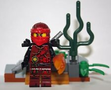 Kai Ninjago movie Minifigure figure toy Green Ninja Hands of Time Red Ninja