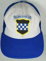 Vintage 1980s 99th INFANTRY DIVISION CHECKERBOARD Advertising SNAPBACK HAT CAP