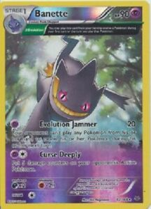 Pokemon, Roaring Skies,  BANETTE 32/108  - REVERSE  Holo, New, NM/M