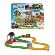 Thomas & Friends Adventures Percy At The Rescue Center Fisher Price New BOXED