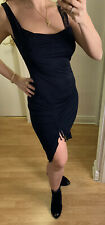 KOOKAI Black Dress with Side Split /Size 2/  UK 10 Preloved ❤️