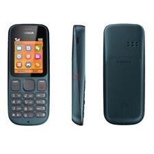 Nueva marca NOKIA 100 2G Gris Virgin Red En Caja Original básico simple teléfono