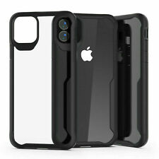 Shockproof Clear Hybrid Bumper Case For Apple iPhone 6, 8, X, 11 Pro, SE, XR, 12