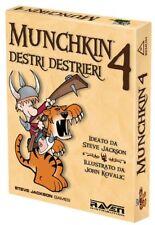 BdM - Munchkin 4 : Destri e Destrieri - Nuova Edizione - Esp. in Italiano  Nuovo