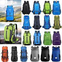 60L Hiking Rucksack Outdoor Backpack Bag Sports Waterproof Camping Travel Sport