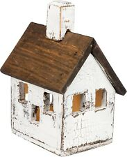 Primitives By Kathy Lighted MANOR BIRDHOUSE Steeple NEW Rustic Decorative