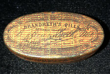 Antique Apothicary Tin Box Quack Medicine