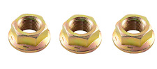"3 PK. Great Dane TOP PULLEY FLANGE NUT 3/4"" Fine for Spindle 200262,D18030 (G4)"