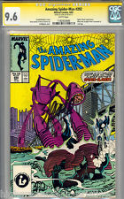 AMAZING SPIDER-MAN # 292 CGC 9.6 WHITE PAGES SS STAN LEE #1182933006