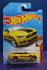 2018 Hot Wheels 2015 FORD MUSTANG GT CONVERTIBLE HW MUSCLE MANIA 2/10 Long Card