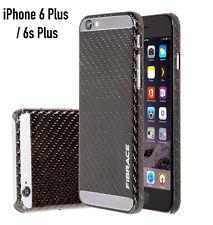Fibrace VERA FIBRA DI CARBONIO CUSTODIA rigida Cover iPhone Plus 6 / 6S PLUS