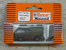 Roco Minitanks / Herpa (New) Modern West German VW T3 DK Truck  Lot 271