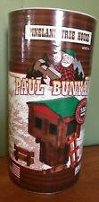 New Paul Bunyan 100 Pc. Log Cabin Building Set Pineland Tree House Ages 3+