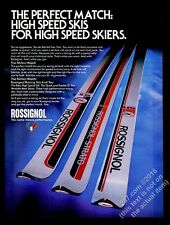 1978 Rossignol Strato ST AM skis photo vintage print ad
