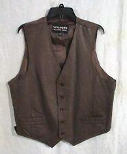 Men's Wilsons Leather Vest, Brown, size L