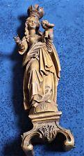 große alte Madonna aus Holz,die Höhe 54cm Vierge en Bois,Wooden,