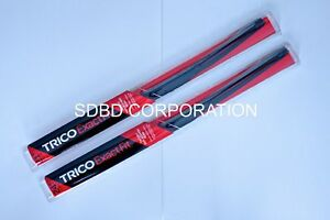 2010-2011 SAAB 9-5 Trico Exact Fit Beam Style Wiper Blades