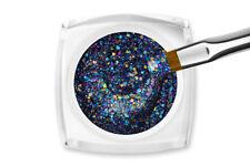 Jolifin LAVENI Farbgel Purple Rain Glitter 5ml