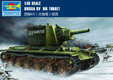 Trumpeter 00311 1/35 Russia KV Big Turret KV-2(1939) Assembly Tank Model Kits