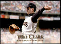 Will Clark 2019 Topps Stadium Club 5x7 Gold #300 /10 Giants