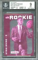 2012 panini nc made ready magenta #35 KYRIE IRVING rookie (only 5 exist) BGS 9
