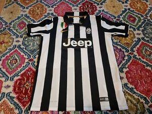 Juventus #10 Football Shirt 2014/15 Youth XL 13-15 Years Nike