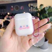Ring Strap Cute Protective Case Earphone Cover Silicone For Apple AirPods 1 2