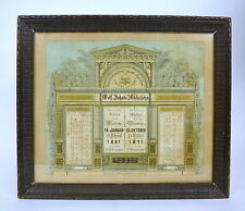 Judaica Gedenktafel um 1910 Michelsohn