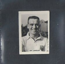 COLINVILLE-FOOTBALL INTERNATIONALS 1958-#34- FULHAM - LANGLEY