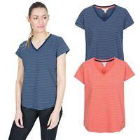 Trespass Womens T-Shirt Short Sleeve Female Active Gym Top Konnie