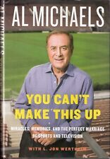 Lot of 2 Sportscaster Biographies - Al Michaels & Howard Cosell