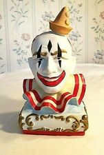 Vintage Ezra Brooks Clown Decanter 1979 Collector Series