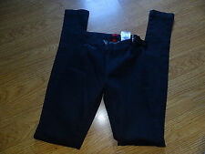 GUESS DENIM LEGGING JEANS SIZE XS NEW JET BLACK